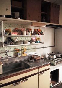 施工事例 : キッチン BEFORE