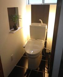 施工事例 : トイレ AFTER